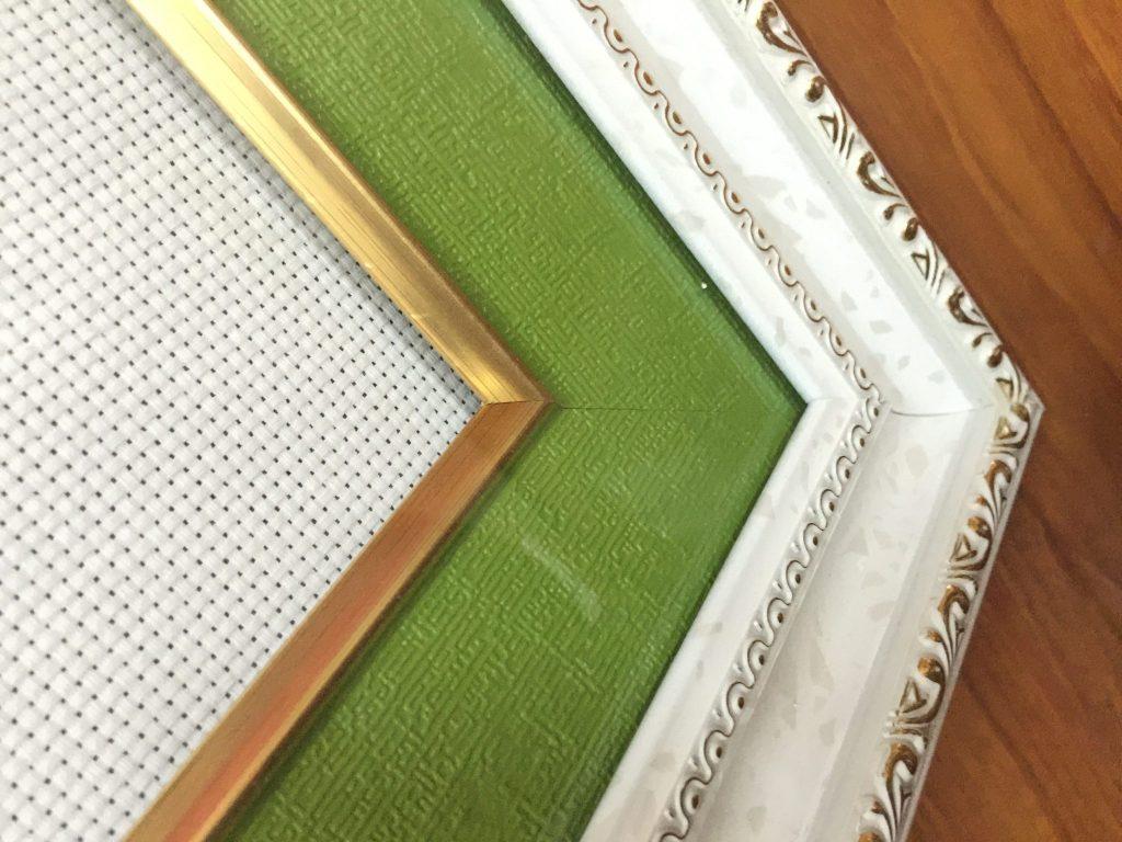 khung ảnh giả gỗ