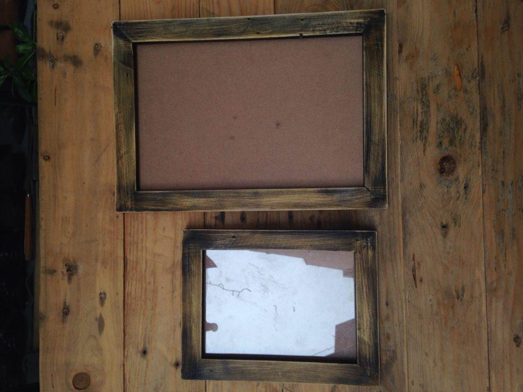 khung ảnh gỗ hương